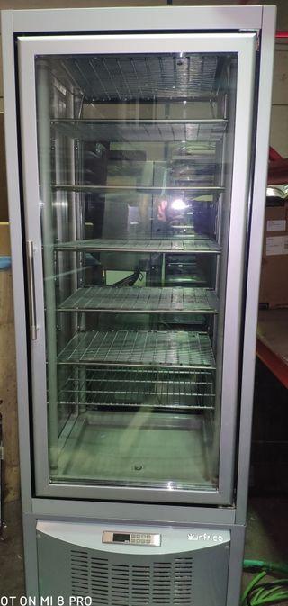 armario expositor 4 caras de cristal congelación