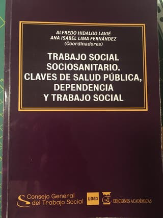 Libro: trabajo social sociosanitario