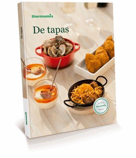 """Libro de recetas """"De tapas"""" Thermomix"""