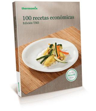 Libro 100 recetas económicas Thermomix .