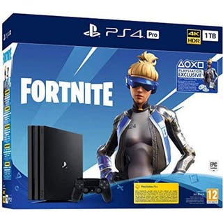 PlayStation Slim de 500 GB + Fortnite PRECINTADA