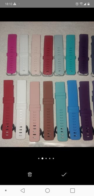 Correas intercambiables para FITBIT CHARGE 3 color