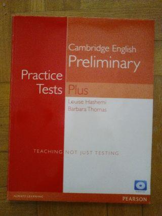 LIBRO CAMBRIDGE ENGLISH PRELIMINARY