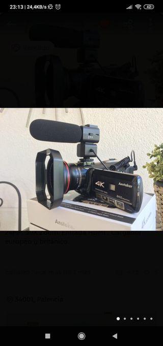 4K VIDEOCÁMARA HD CONECTIVIDAD WI-FI