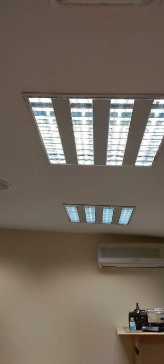 Paneles Iluminación Oficina