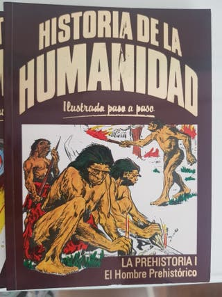 Colección de libros. Historia de la Humanidad