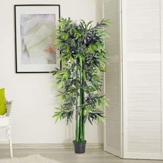 Bambú Artificial 180cm Planta Sintética Decorativa