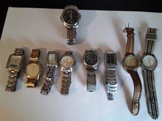 8 Relojes