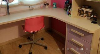 escritorio esquinero infantil juvenil