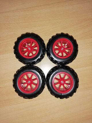 juego de ruedas para coche rc