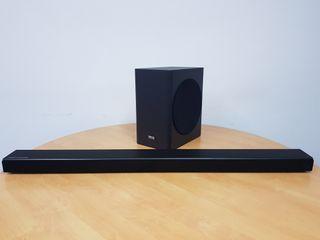 Barra de sonido Samsung harman kardon hwq60r