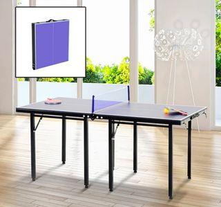 Mesa de Ping Pong Plegable Infantil Acero y MDF