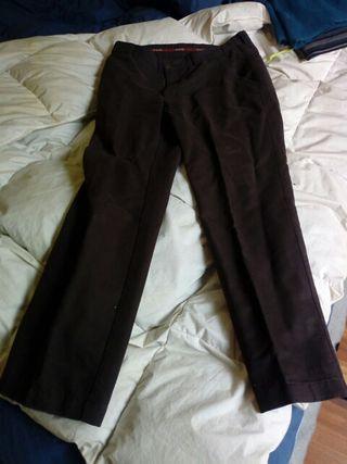 Pantalones Chinos marrón