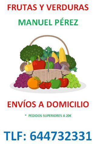 Frutas y Verduras Pedios a Domicilio