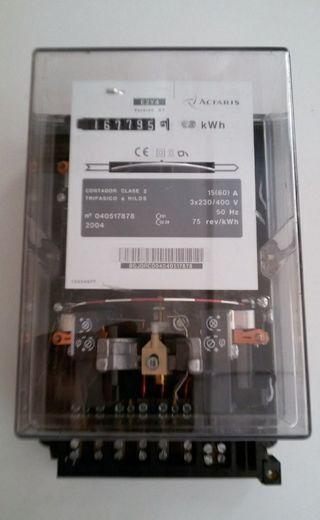 Contador Electrico 3 Fases
