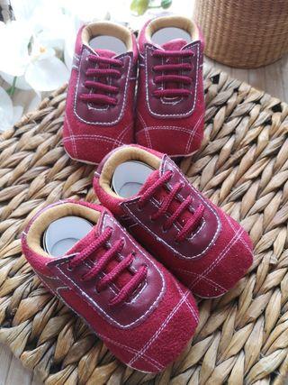 zapatos Talla 17 de cordones, disponibles 2 pares