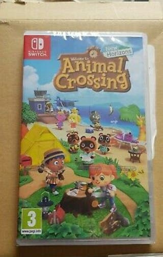 juego Nintendo Switch Animal crossing