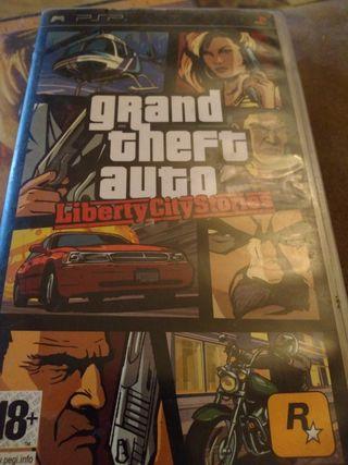 juego gran auto PSP