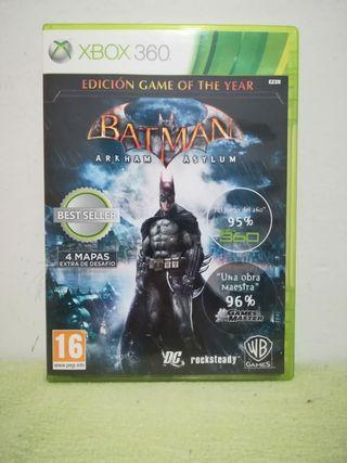 Batman Asylum GOTY Xbox 360