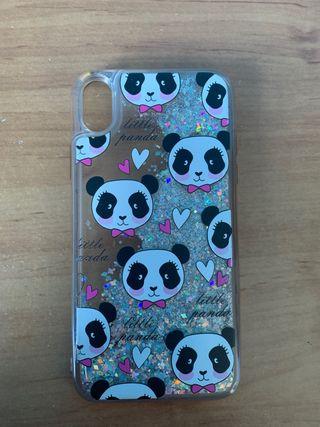 Funda de gel oso pandas iPhone Xr