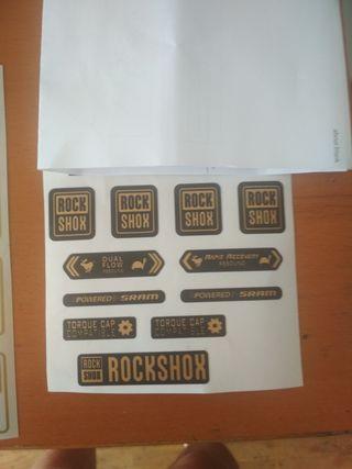 Pegatinas Rock shox sid