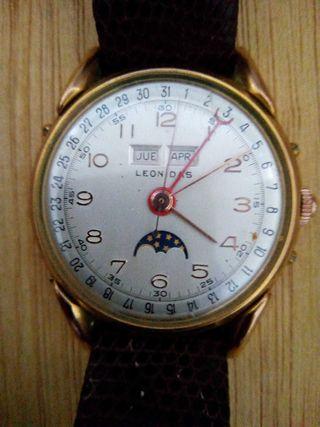 Reloj antiguo.Leonidas serie 0151.
