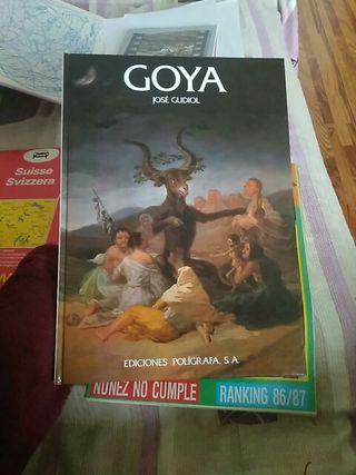 libro de José gudiol sobre goya