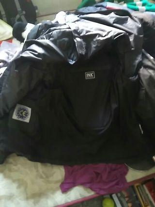 chaqueta con forro para moto