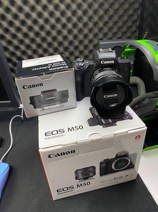 Canon M50 4K Nueva