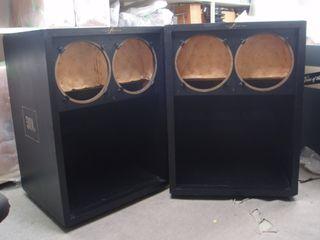 """2 Cajas JBL Tobogán doble 15"""""""