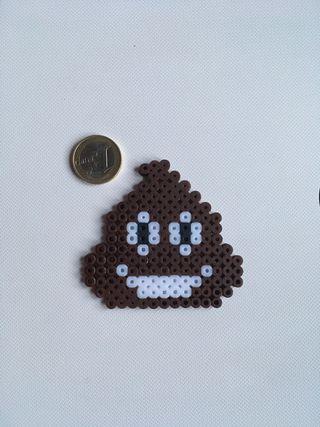 Emoji hecho con hama beads