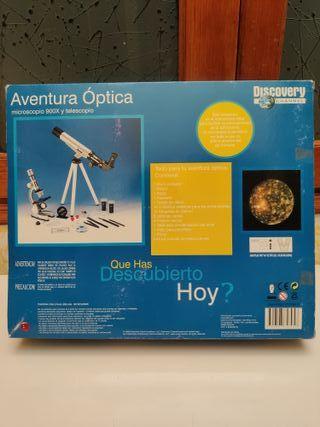 Juego Aventura Óptica de Discovery Channel