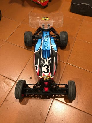 Coche buggy radio control 1/10 chasis