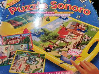Puzzle Sonoro de Diset