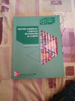 libro se gestión comercial y servicio de atencion