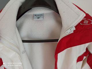 chaqueta Columbia de nieve