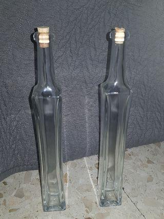 botellas de cristal de decoracion