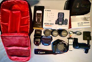 Cámara Reflex Canon EOS 600D.