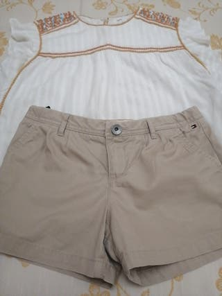 conjunto pantalón y camisa talla12 años