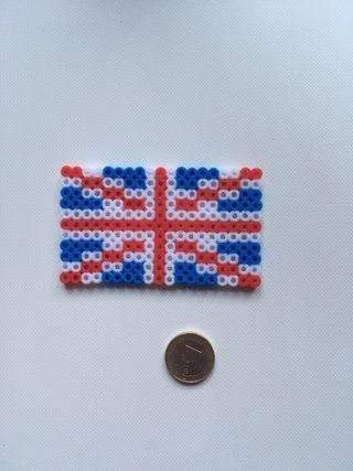 Bandera hecho con hama beads