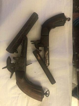 Pistolas antiguas