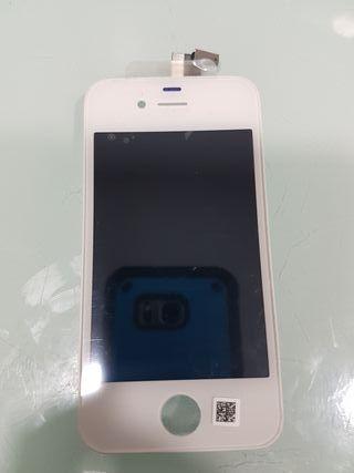 pantalla o lcd blanca iphone 4G/4S Nueva