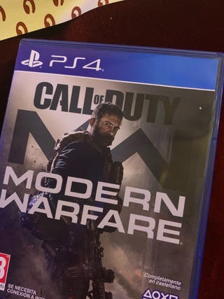 Vendo call of duty modern warfare,el nuevo!!