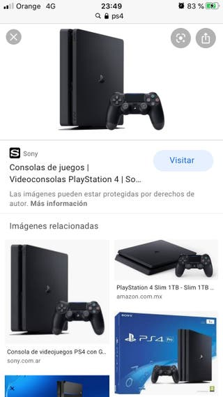 Cambio ps4 por pit bike