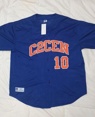 camiseta besibolera manga corta MLB verano 2020