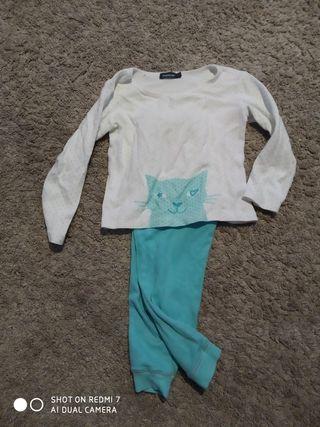 lote 2 pijamas 5 años