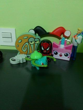 lote de juguetes +reloj acuático Freely