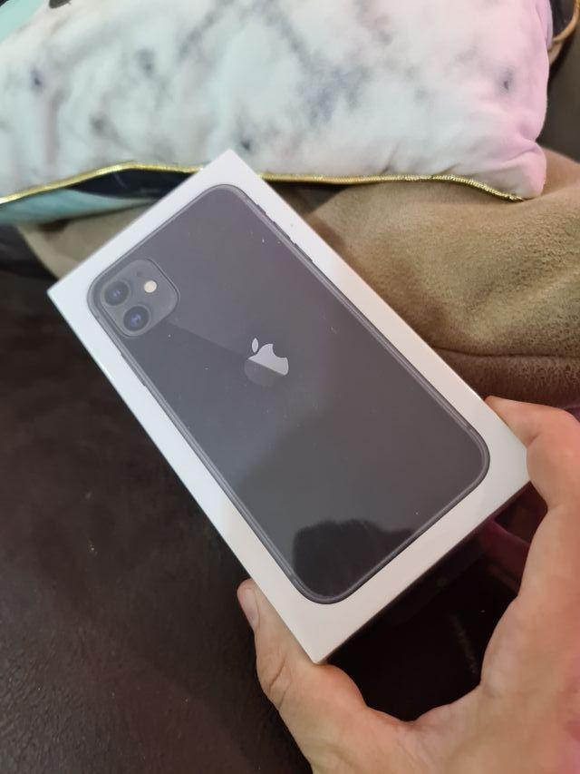 IPHONE 11 128 GB BLACK nuevo