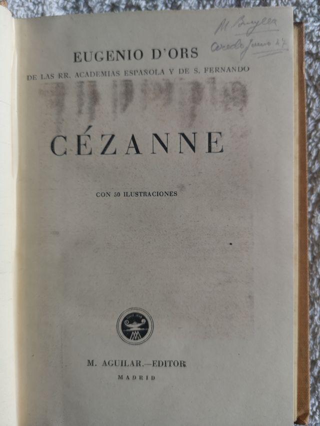 Colección 6 libros de arte por Eugenio D´ors 1940