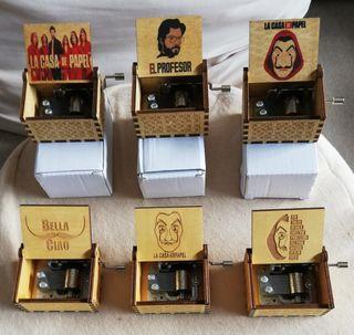 """Cajas de música """"La Casa de Papel"""" NUEVAS"""